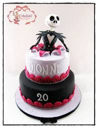 skellington cake nightmare before cake by