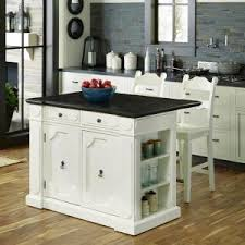 White Kitchen Islands With Seating Home Styles Weathered White Kitchen Island With Storage