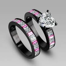 vancaro wedding rings unique pink and black diamond ring team 570