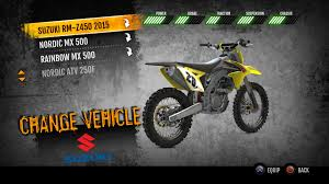 motocross vs atv 2015 suzuki rm z450 mx on ps4 official playstation store us