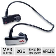 headband mp3 sony walkman nwz w202blk 2gb mp3 player headband wireless cord