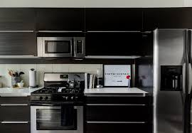 new black kitchen cabinets black kitchen cabinets apartment therapy
