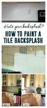 How To Paint A Front Door Without Removing It Best 25 Painting Tile Backsplash Ideas On Pinterest Painted