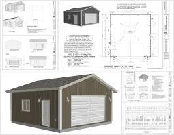 g553 24 x 25 x 10 garage plans 9 plans