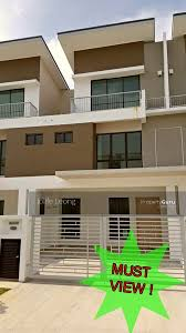 3 storey house 3 storey house terrace house setia alam near to setia city