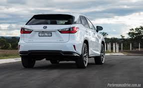 suv lexus 2016 2016 lexus rx 450h f sport review video performancedrive