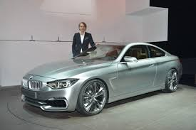 new bmw 4 series coupe concept in the flesh from the detroit auto show