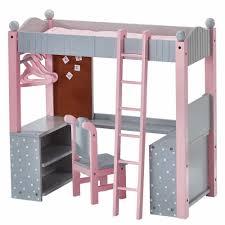 American Doll Bunk Bed Doll Bunk Bed American 18 Inch Dolls Furniture Desk Mattress