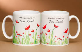 mug design personalised tea lover s mug poppy design i just love it