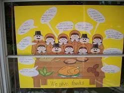 free november bulletin board ideas crafts