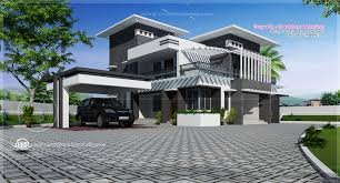 contemporary home design in 2491 sq feet house design plans