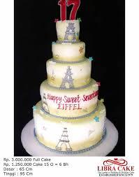 wedding cake kelapa gading sweet seventeen libra cakelibra cake