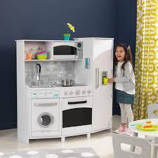 cuisine fille jouet grande cuisine lumières sons bois kidkraft 53369 jouet imitation