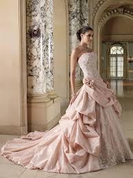 pink wedding dresses pink wedding dress rikof