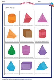 prisms pyramids and nets lessons tes teach