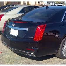 cadillac cts styles unpainted 2014 2017 cadillac cts spoiler sedan factory style