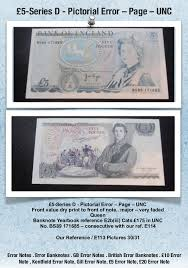 banknote yearbook error notes gb error notes