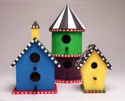 decorative bird houses might not be safe for birds inside