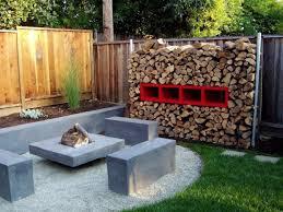 Rustic Backyard Backyard Fire Pit Ideas Christmas Lights Decoration