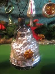 Glass Bell Christmas Ornaments - radio monkey antique german glass christmas ornament glass