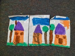 paint a kindergarten supply out the door dinosaur a yearlong