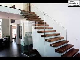 Design For Staircase Railing Thrissur Modern Staircase Glass Railing Designs Staircase Design