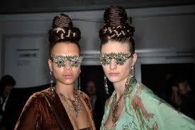 miranda konstantinidou miranda konstantinidou backstage mercedes fashion week