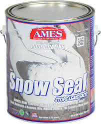 ames snow seal waterproof roof coating