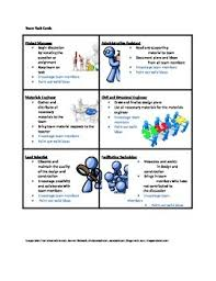 stem team task cards encourage teamwork and collaboration with