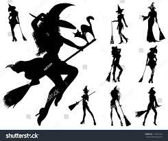 halloween witch stock vector 113971744 shutterstock