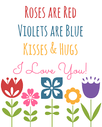 roses are red valentine u0027s day printable a mom u0027s take