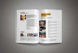 magazine layout template