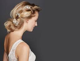 davids bridal hairstyles wedding headpiece guide veils flower crowns accessories