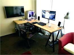 desktop computer desk dual monitor computer desk dual monitor computer desks dual