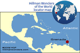 grenada location on world map grenada tips by travel authority howard hillman