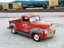 Vintage Ford Truck Colors - 1946 ford pickup texaco service classic rust old vintage usa