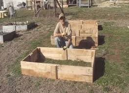 Raised Garden Beds From Pallets - how to build a raised garden bed from pallet wood homestead