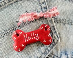 personalized bone ornament ornament for dogs