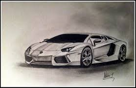 lamborghini sketch lamborghini aventador pencil drawing my artwork pinterest