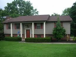 exterior house paints blue top home design