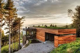 moderne holzhã user architektur modernes holzhaus mit dachterrasse architektur