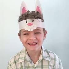 easter bunny hat instant hippity hoppity kids easter bunny hat