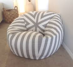Black And White Striped Chair by Bean Bag Canopy Stripe Grey And White Stripes Bean Bag Cover Bean