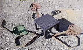 siege de tracteur ancien fauteuil siège agricole salon jardin siège faucheuse tracteur déco
