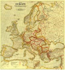 Map Of The Europe by Europe Before And After The Great War Vivid Maps