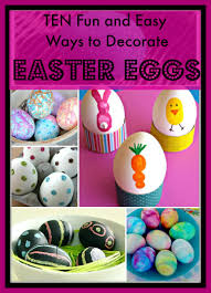 10 fun and fairly easy ways to decorate easter eggs u2014 just jilly