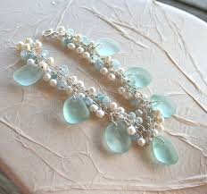 How To Make Jewelry From Sea Glass - 98 best beach glass bliss images on pinterest beach crafts sea