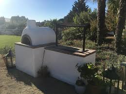 Build Brick Oven Backyard by Pizza Oven And Santa Maria Bbq Grill Build Quickcrafter