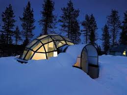 finland northern lights hotel glass igloo in finland is the ultimate adventure hotel northern