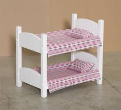 American Made Bunk Beds American Made Wooden Doll Bunk Bed Heritage Doll Furniture